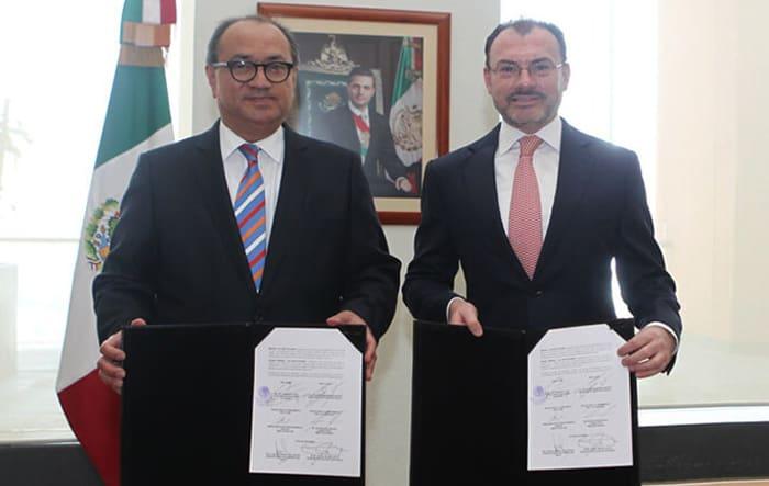 SRE y SEP firman convenio