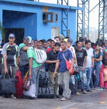El éxodo de Venezolanos en busca de asilo como refugiados
