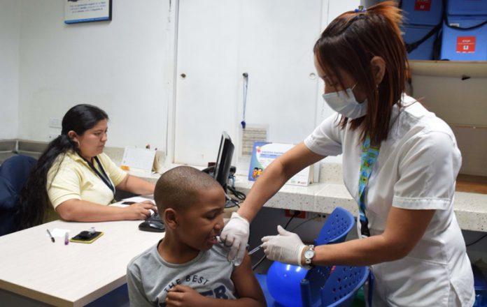 Colombia en alerta por brote de sarampión