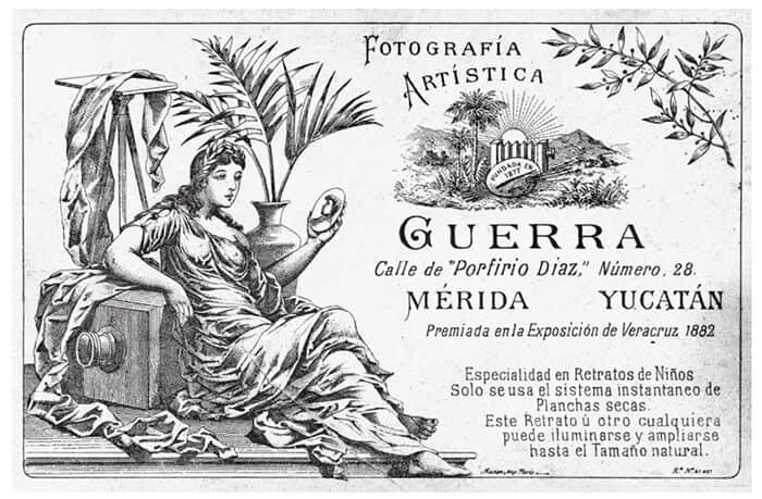 fotografía artística con la historia de Yucatán