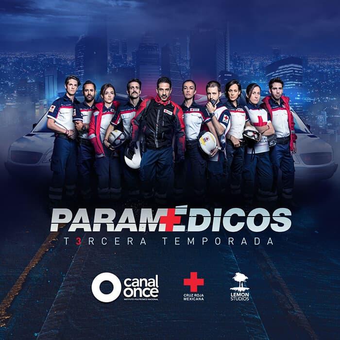 Tercera temporada de la serie Paramédicos
