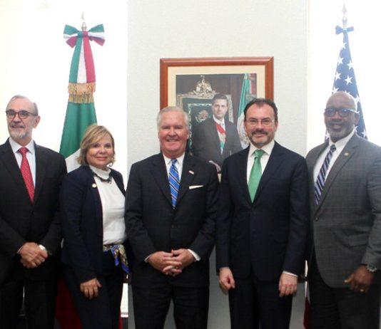 Videgaray y Alcalde de Tampa TLCAN