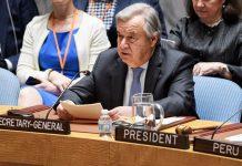 Siria, Secretario General de la ONU: Siria amenaza a la paz
