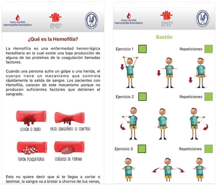app Mi hemofilia, un recurso educativo para niños