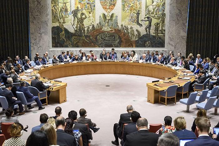Siria, Secretario General de la ONU