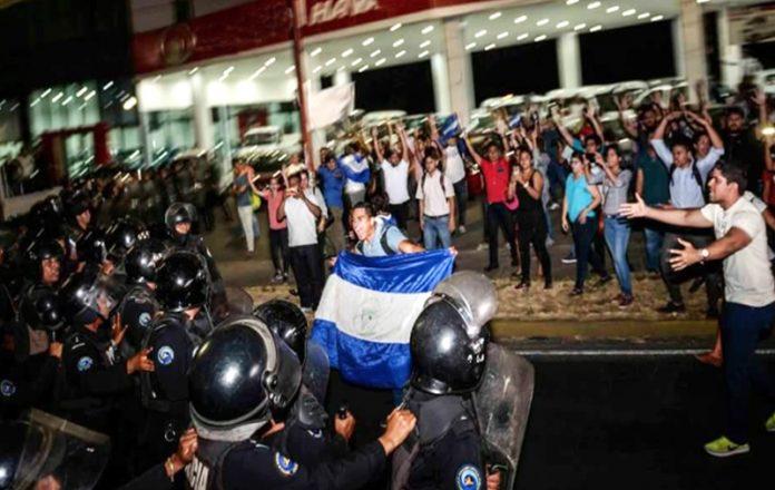 Represión y censura en Nicaragua