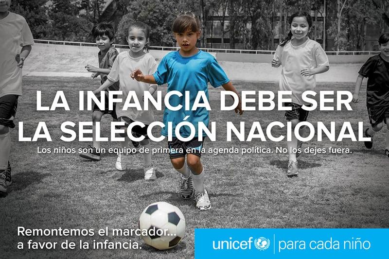 Remontemos El Marcador a favor de la infancia UNICEF México