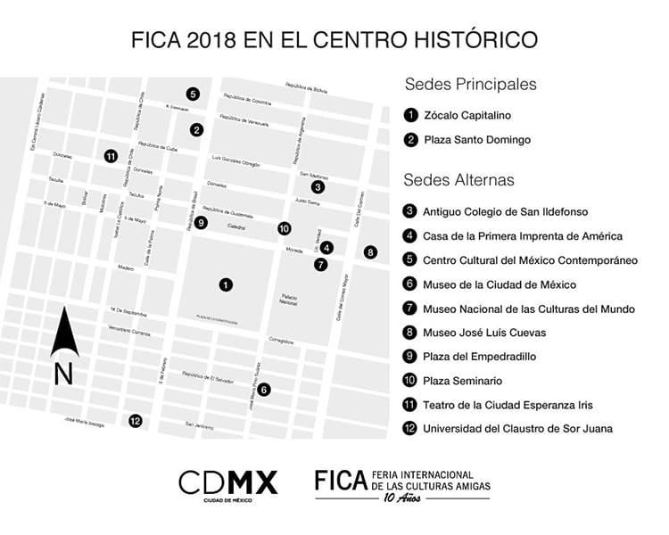 Feria Internacional de las Culturas Amigas FICA 2018 CDMX