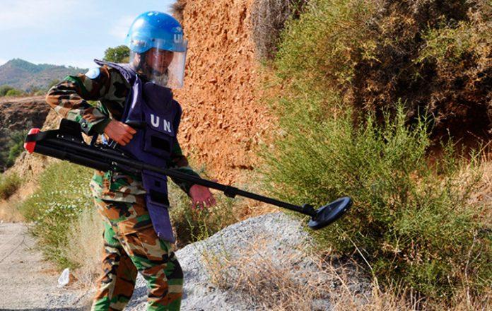 UNMAS Día Internacional de información sobre el peligro de las minas