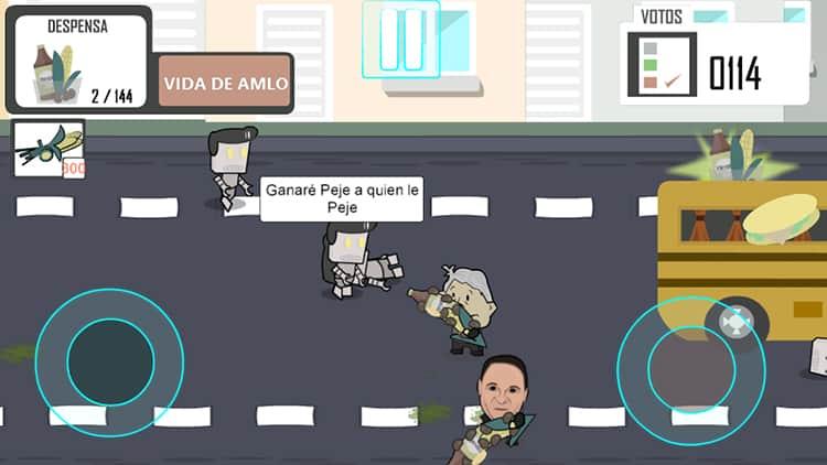 App AMLO vs la Mafia del Poder