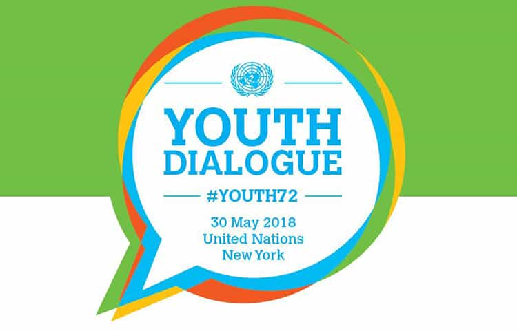 Diálogo Juvenil de la ONU Youth Dialogue 2018