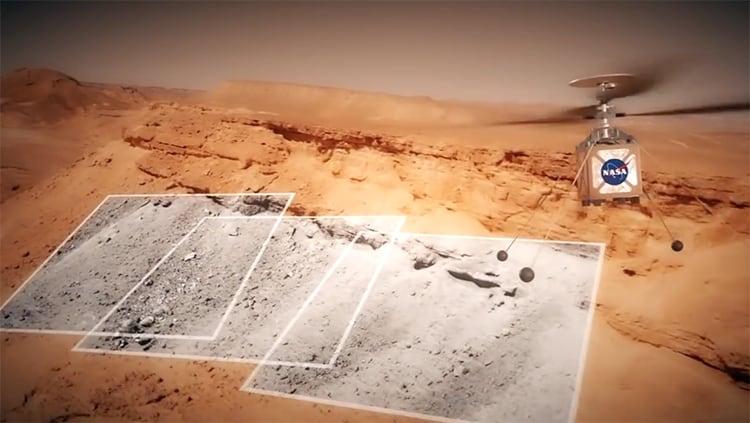 Mars Rover 2020 enviará un helicóptero a Marte