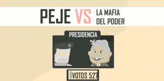 App o videojuego de AMLO vs la Mafia del Poder