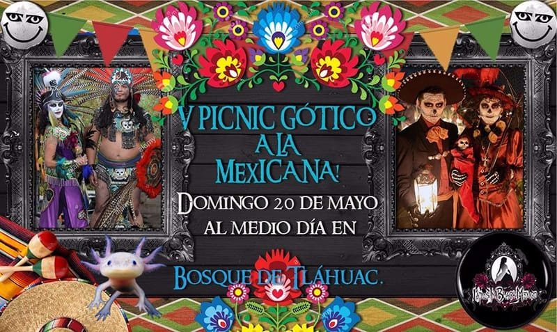 Quinta edición del Picnic Gótico 2018 CDMX