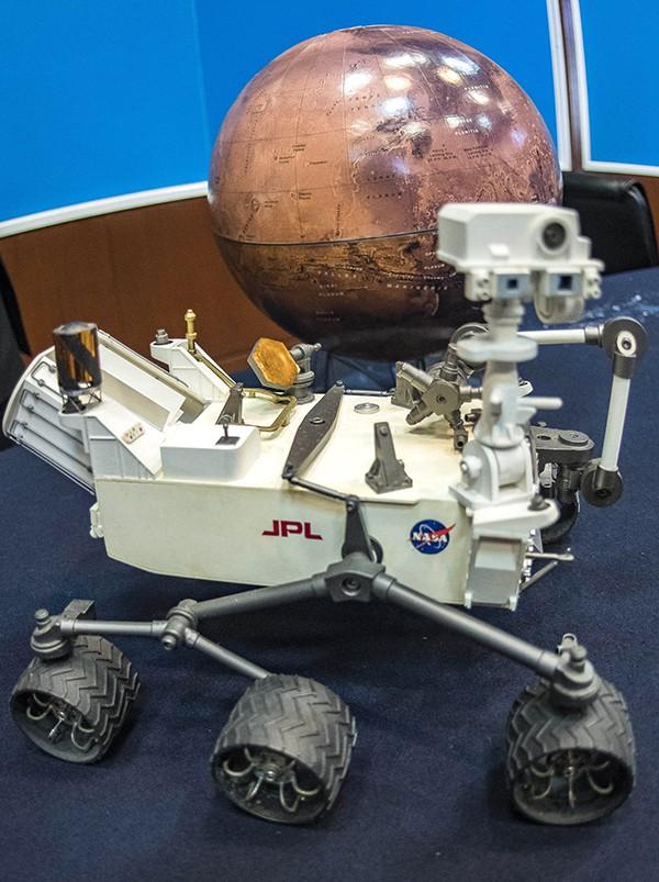 materia orgánica en Marte