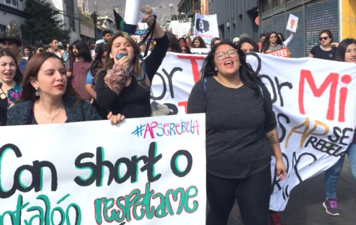 Marchas feministas Chile