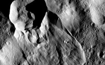 Sonda Dawn planeta Ceres