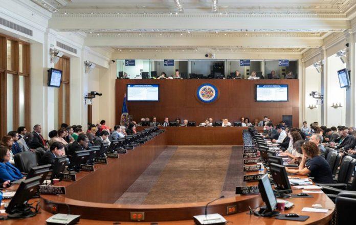 represión y asesinatos en Nicaragua, OEA
