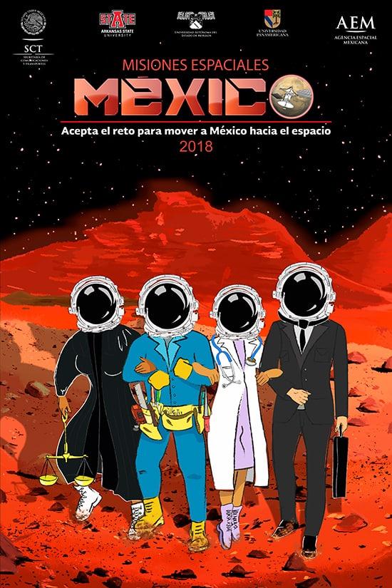 AEM Misiones Espaciales México 2018