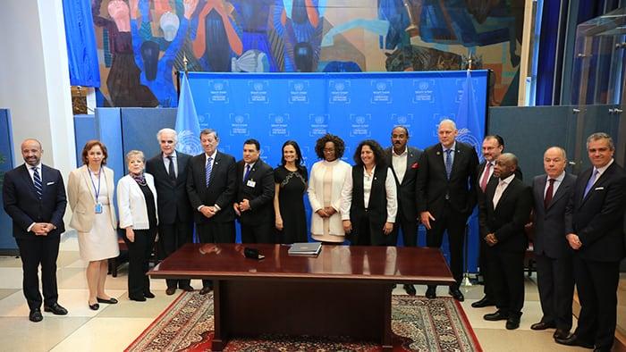 México firma el Acuerdo de Escazú AGNU UNGA 73