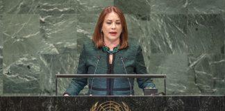 María Fernanda Espinosa Garcés 73 Asamblea General de la ONU