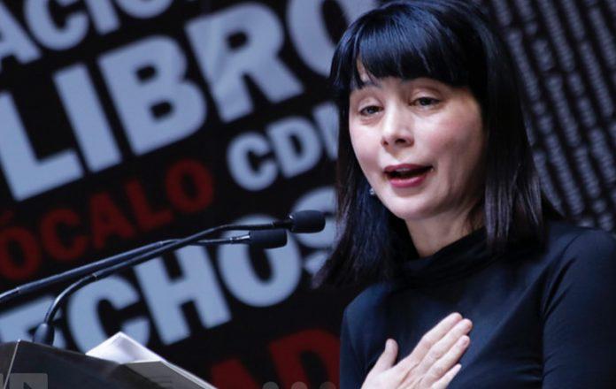 Fil Zócalo 2018 Derechos y libertades, Wendy Guerra