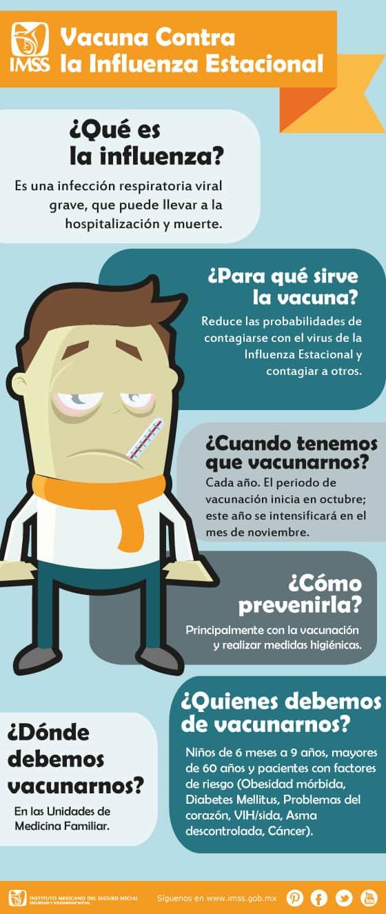 campaña de vacunación contra la influenza estacional 2018-2019