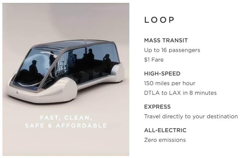 Elon Musk túnel subterráneo Booring loops
