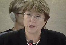 Bachelet llama vasta crisis humanitaria Venezuela