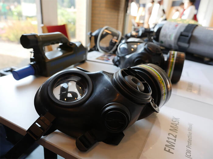 OPAQ armas químicas en Duma, Siria