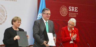 ONU Gobierno de México acuerdo caso Ayotzinapa
