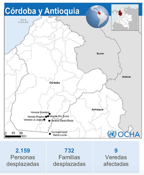 Crisis humanitaria en Colombia desplazados