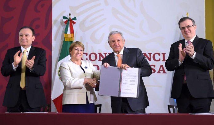 Bachelet cifras de muertes violentas en México