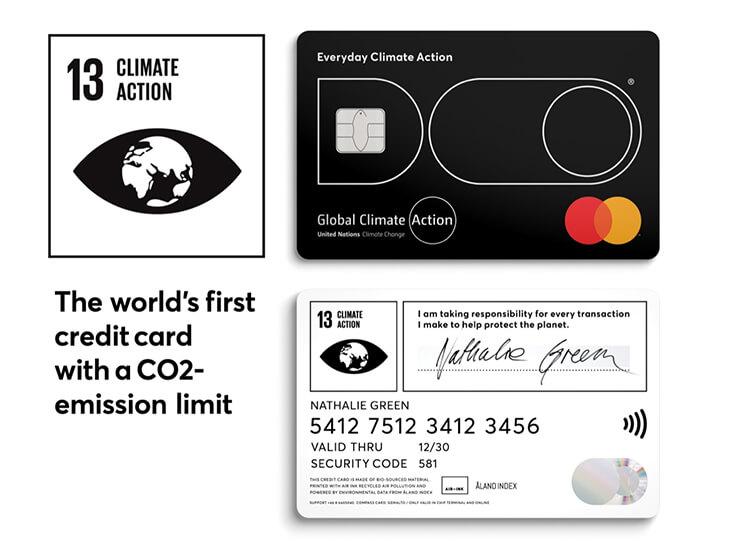tarjeta de crédito impacto climático do black ONU