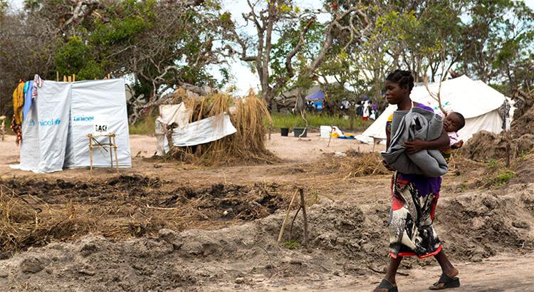 Mozambique devastación por ciclones