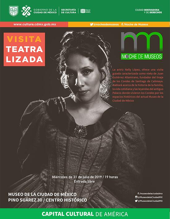 Noche de Museos CDMX verano 2019