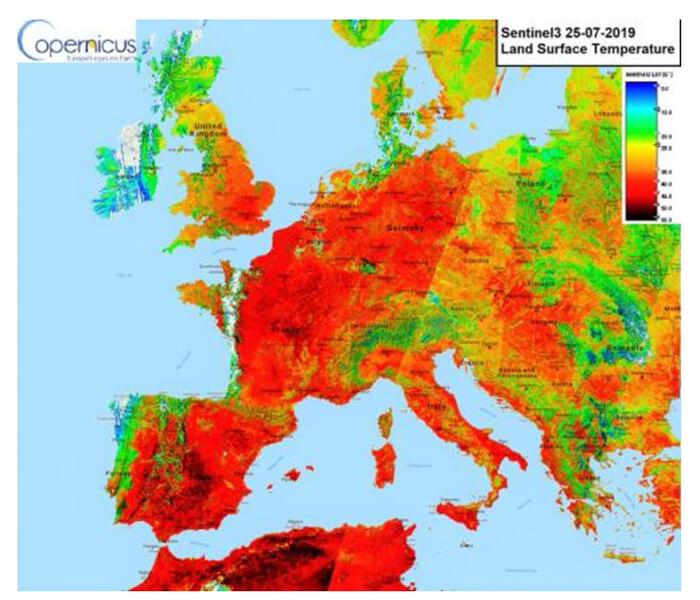 olas de calor y las temperaturas más cálidas de la historia