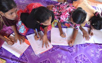 Más de la mitad de los niños refugiados no estudian, ONU