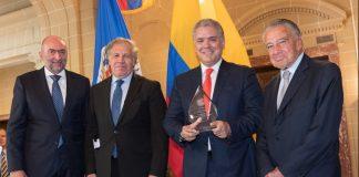 Iván Duque es designado Presidente Emérito del Sector Privado de las Américas