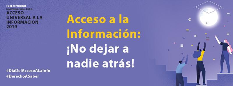 Día Internacional del Acceso Universal a la Información 2019