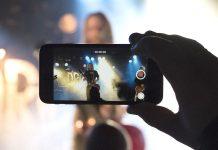 La pantalla táctil en dispositivos móviles y la palma de la mano